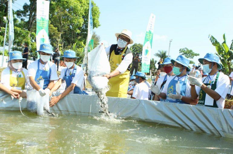 Gubernur Jabar Resmikan Petani Ikan Milenial